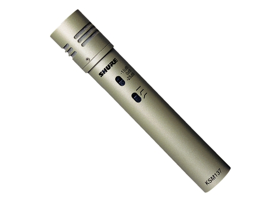 Shure KSM137 SL Instrumentenmikrofon, PRO
