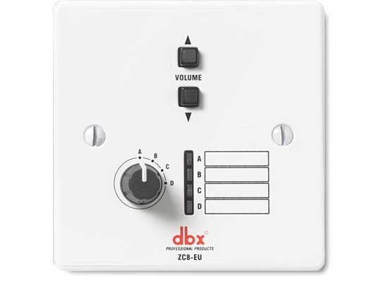 DBX ZC-8 Remote Source Selector / Volume Control Online At Low ...