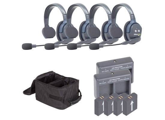 Eartec UltraLITE HD UL4S Wireless Intercomsystem