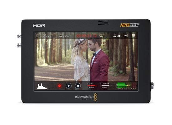 Blackmagic Design Video Assist 5'' 12G HDR Monitor/Recorder