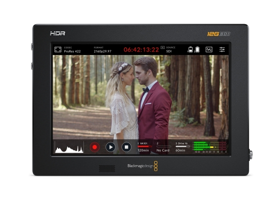 Blackmagic Design Video Assist 7'' 12G HDR Monitor/Recorder