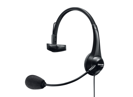 Shure BRH31M-NXLR4F einseitiges Broadcast Headset