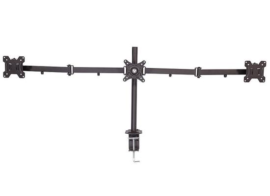 Lindy 40961 Tischhalterung für 3 Monitore 17''-26'', schwarz
