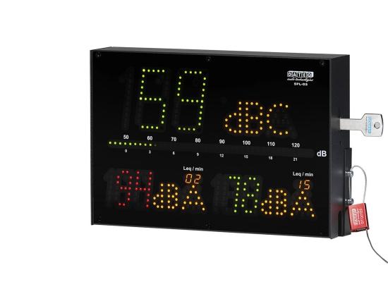 DATEQ SPL-D3 Schallpegelanzeige mit Messmikrofon