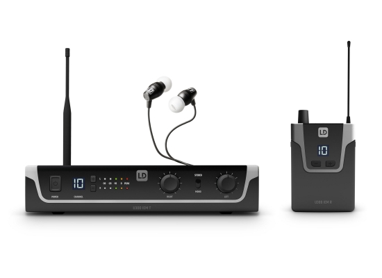 LD Systems U305 IEM HP InEar Monitor System