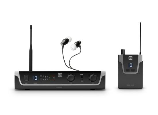 LD Systems U306 IEM HP InEar Monitor System