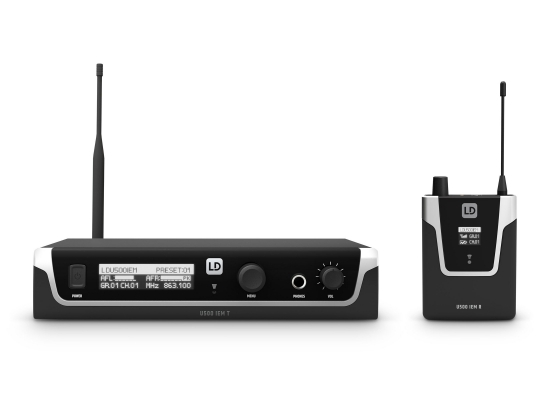 LD Systems U505 IEM InEar Monitor System