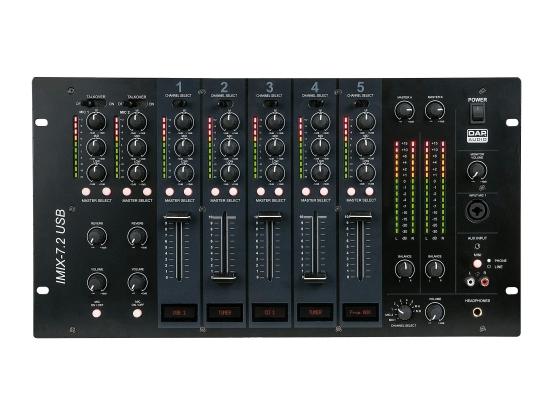 DAP Audio IMIX-7.2 USB Festinstallation-Mixer