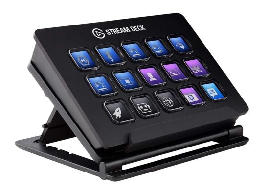 Elgato Stream Deck USB Controller Keypad, 15 LCD Tasten