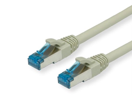 Value CAT6A-Netzwerkkabel, S/FTP, 15m, grau