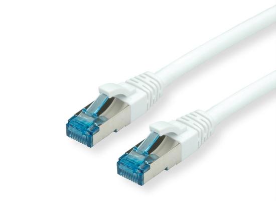Value CAT6A-Netzwerkkabel, S/FTP, 20m, weiß