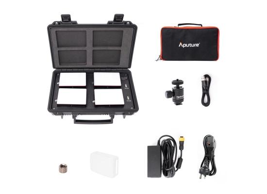 Aputure MC-4 Light Travel Kit Kameraleuchten SET
