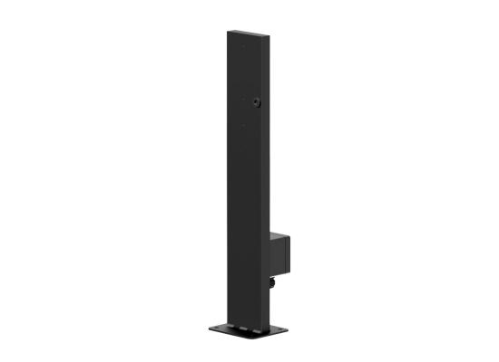 Audac MBK556/B Lautsprecherhalter, schwarz, Wandmontage
