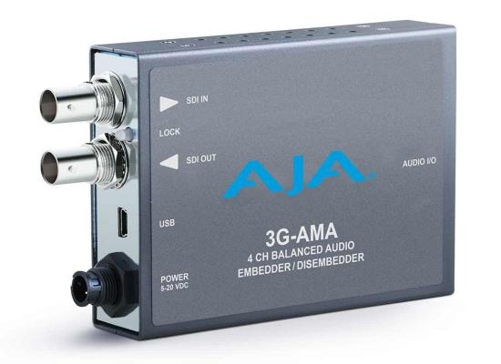 AJA 3G-AMA Analog Audio Embedder/Disembedder