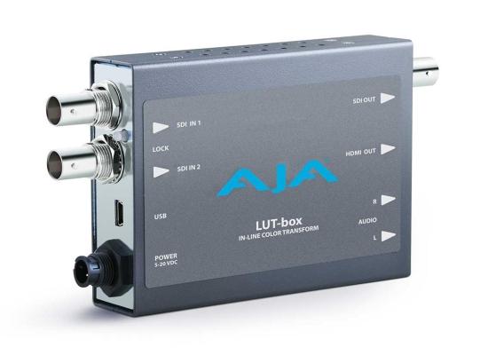 AJA LUT-Box Farbtransformator