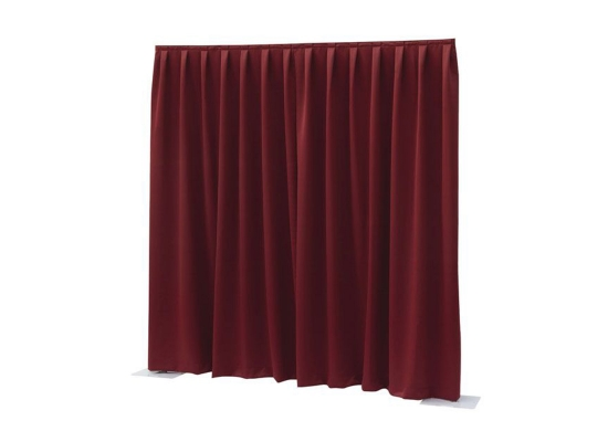 Wentex Pipes & Drapes Vorhang Dimout, rot