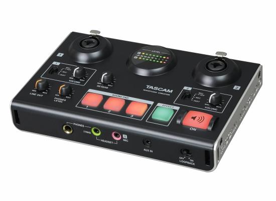 Tascam US-42B Ministudio Creator Broadcast Mixer