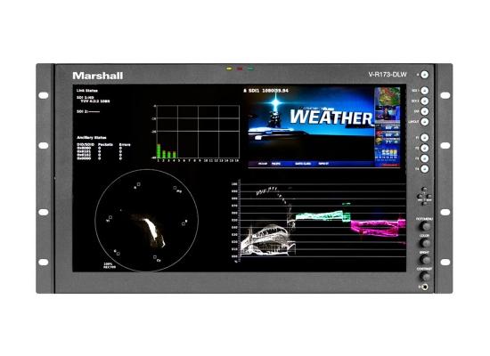 Marshall Electronics Marshall V-R173-DLW HD Rack / Desktop Monitor