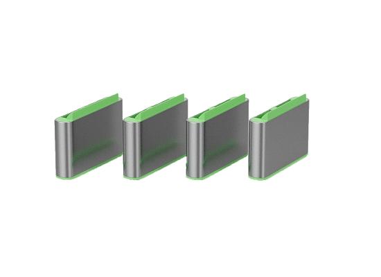 Lindy 40438 USB-C Port Schloss, GRÜN, 10x Schloss
