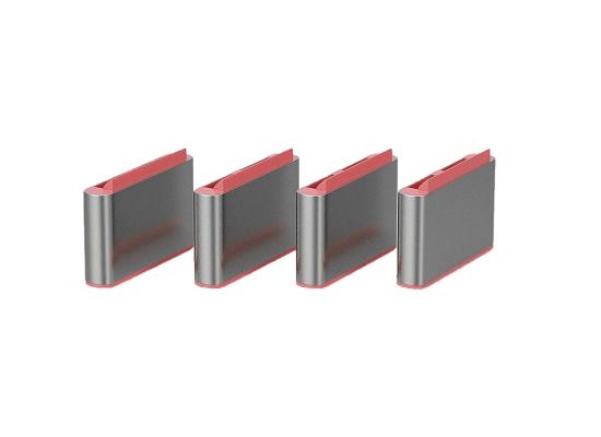 Lindy 40437 USB-C Port Schloss, PINK, 10x Schloss