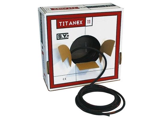 Titanex H07 RN-F Gummikabel, 4x  2.5mm², Ă'15.5mm