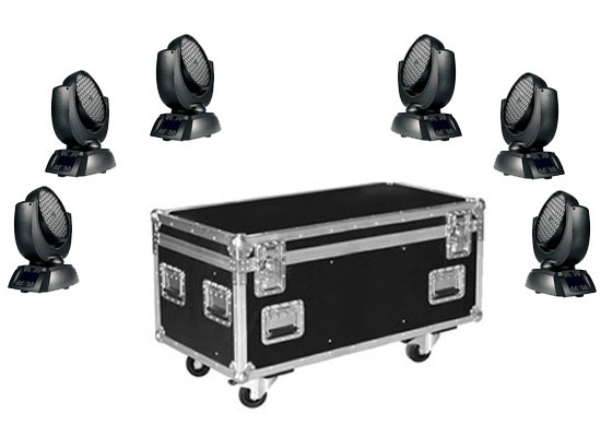 jb lighting a7 led moving head wash 6 set bei huss licht ton. Black Bedroom Furniture Sets. Home Design Ideas