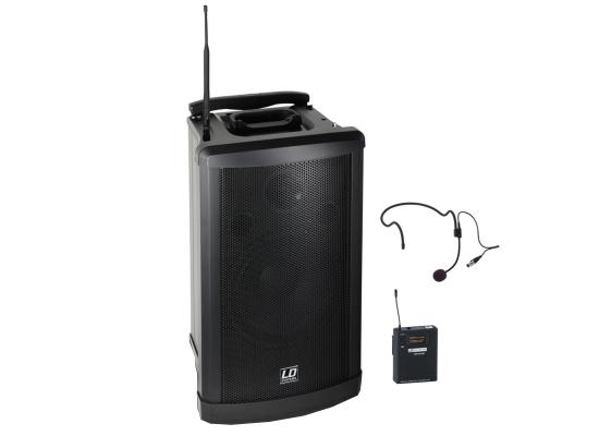 LD Systems Roadman 102 Akku Lautsprecher, Headset