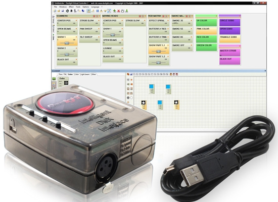 Daslight DVC3 128 DMX-Interface / Software At Huss Light & Sound
