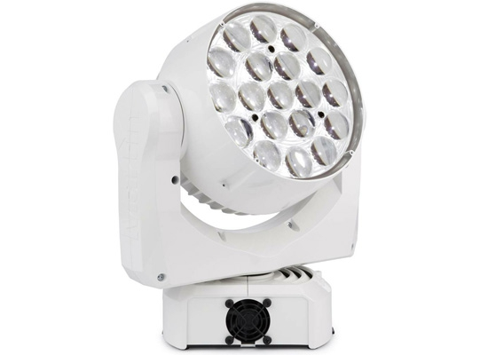 Martin MAC Aura LED Movinghead, white, 11°- 58° Zoom, Osram High Power LED,  RGBW, WITHOUT POWERCON CABLE