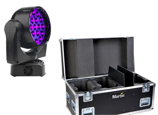 Martin MAC Aura LED Movinghead / Flightcase, black, PRICE/PIECE, (SOLD 6  PIECEWISE)