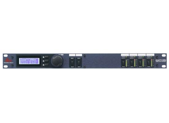 DBX Professional DBX ZonePro 640M digit. Zonen-Prozessor
