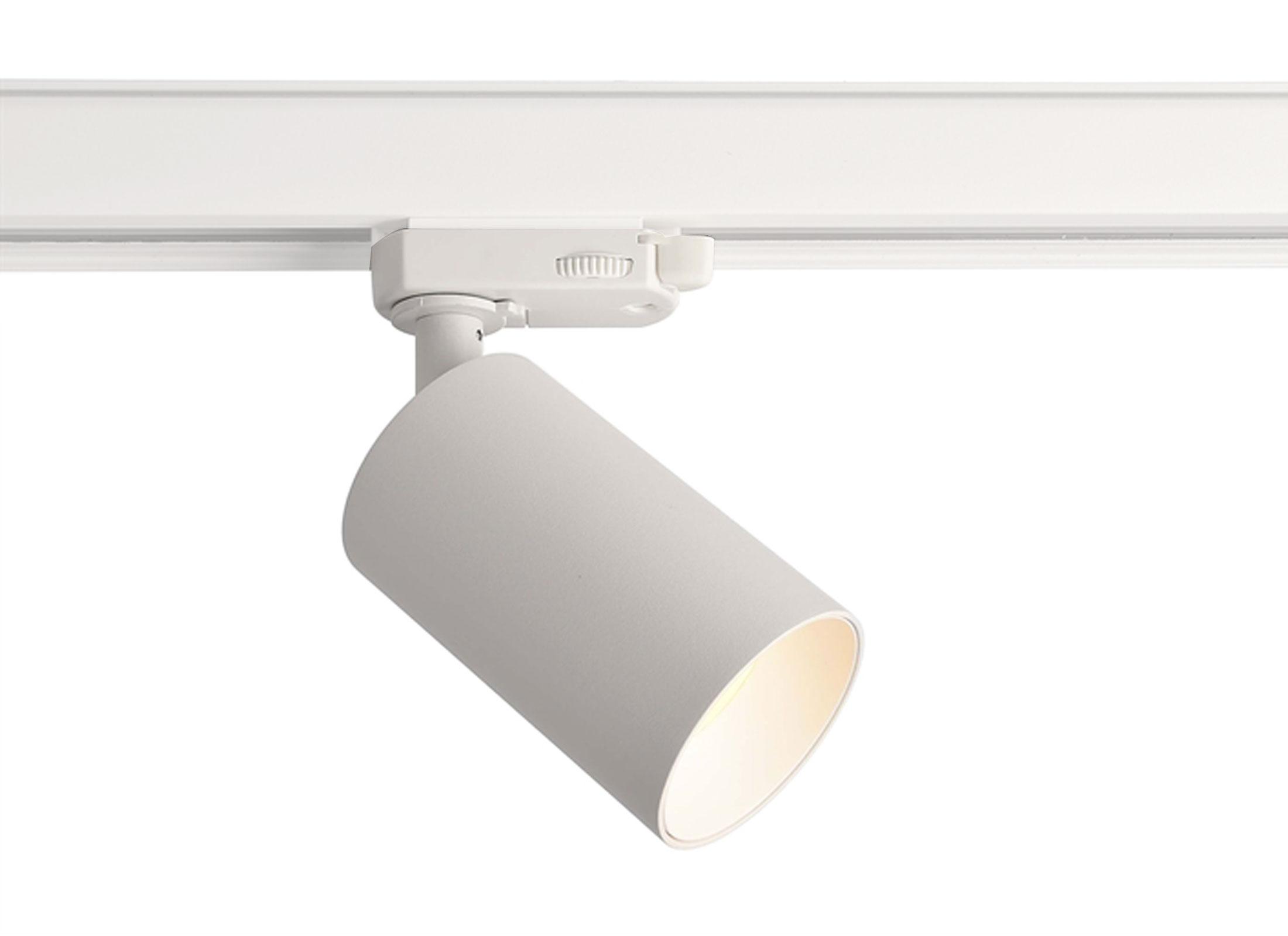 Deko Light Can Stromschienen Leuchte, weiß, 20x 20.20W, 20 Phasen, 2200V,  GU200 Sockel, OHNE LEUCHTMITTEL